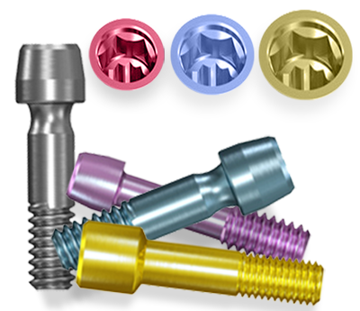 Picture of NT-Trading I-Series Biomet 3i Osseotite® Compatible Abutment Screws