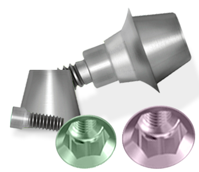 Picture of NT-Trading R-Series 2-CONnect Base Set: Zimmer Tapered Screw-Vent® Compatible