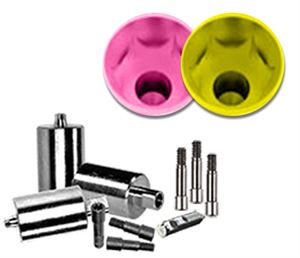 Picture of NT-Trading Nobel Active® Compatible F-Series Titanium Blank Preform 3-Pack