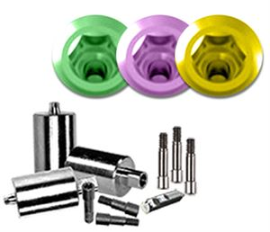 Picture of NT-Trading R-Series Zimmer Dental Tapered Screw Vent® Compatible Titanium Preform 3-Pack