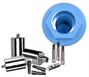 Picture of NT-Trading Biomet 3i Osseotite® Compatible  I-Series Titanium Preform 3-Pack