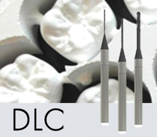 Picture of 0.3mm DLC BALL END MILL