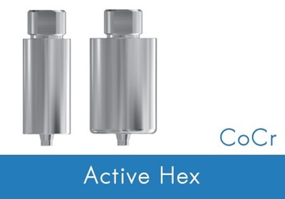 Picture of Pre-milled Cobalt-Chrome Blank -Nobel Active® Compatible - NP/3.5