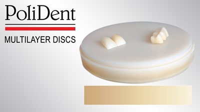 Picture of Polident Multilayer PMMA Discs