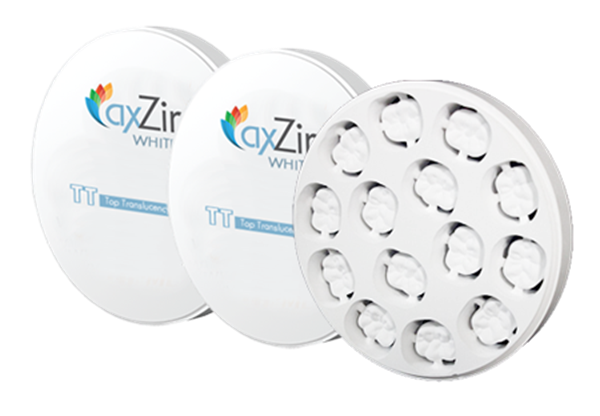 Picture for category AxZir White Zirconia Discs