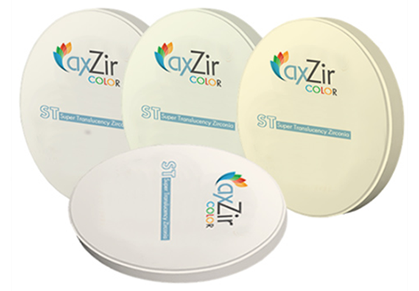 Picture for category AxZir Pre-shaded Zirconia Discs